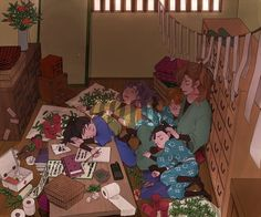 Tags: Anime, Fanart, Pixiv, Rakudai Ninja Rantarou, Zenpouji Isaku