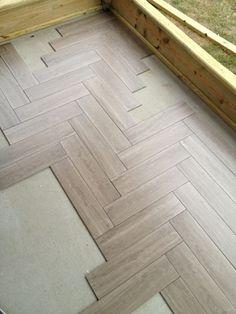 Tile For Screen Porch - Tiling, ceramics, marble - DIY Chatroom Home Improvement Forum