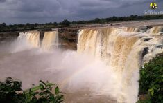 Chitrakoot Falls. Niagara falls of India.
