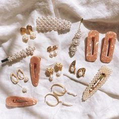 Bamboo Hoop Earrings - 2 inch large gold hoops/ big gold hoops/ bamboo earrings/ thick gold hoops/ statement earrings/ gifts for her - Fine Jewelry Ideas - Cassidy Hinkle - Hair Clips Bamboo Hoop Earrings, Crystal Earrings, Statement Earrings, Stud Earrings, Cluster Necklace, Crystal Jewelry, Silver Earrings, Heart Jewelry, Cute Jewelry