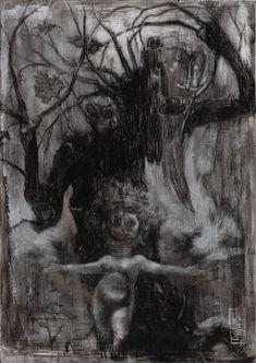 Early Visions - S a n t i a g o  C A RUSO  -  Artist & Illustrator