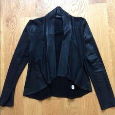 krisa Jackets & Blazers -  HP 8/26/14 Krisa coated drape jacket