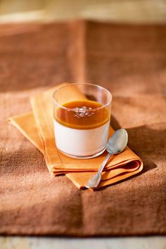 Save room for this dessert from Cooking for Jeffrey: Vanilla Rum Panna Cotta With Salted Caramel.