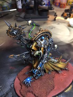 """Belisarius Cawl almost finished #warmongers #miniaturemonday #admech"""
