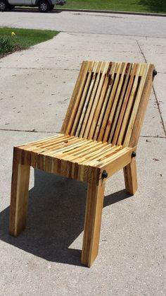 Chaise en palette DIY