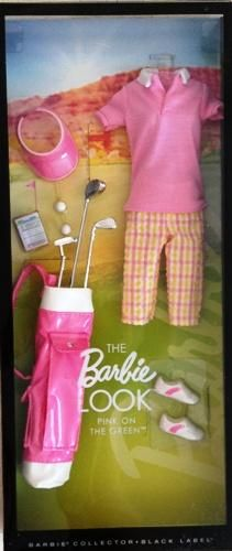 Barbie - Pink On The Green (The Barbie Look) #