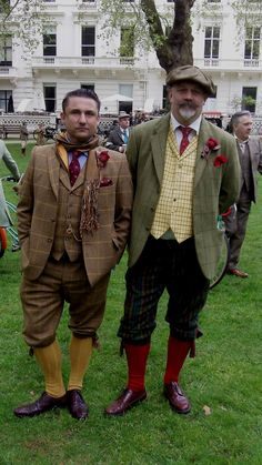 Ol Fashion, Vintage Fashion, Mens Fashion, Tweed Ride, Bohemian Men, Plus Fours, Gentleman's Wardrobe, Cycle Chic, Victorian Costume