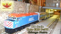 Kato, Ho Scale, Model Trains, Chicago, Layout, Page Layout