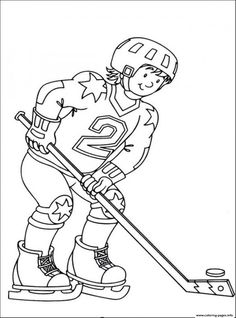 hockey sedbd coloring pages printable and coloring book to print for free. Find more coloring pages online for kids and adults of hockey sedbd coloring pages to print. Sports Coloring Pages, Coloring Pages To Print, Coloring Sheets, Coloring Books, Colouring, Templates Printable Free, Free Printable Coloring Pages, Free Coloring Pages, Coloring Pictures For Kids