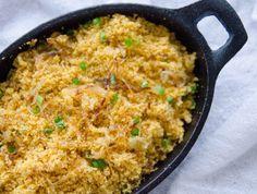 Farofa de cebola fácil e deliciosa