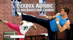 Kickbox Aerobic Basic Cardio Workout – Exercises and Fitness Home Boxing Workout, Cardio Boxing, Cardio Dance, Cardio Abs, Kick Boxing, Boxe Fitness, Power Workout, Youtube Workout, Cardio Workouts