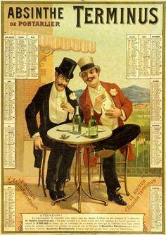 L'#absinthe : entre boisson « Ordinaire » et poison vert