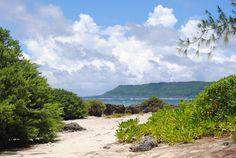 Tarague Beach on AAFB, Guam