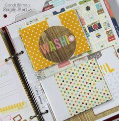 Life Documented Planner by design team member Candi Billman