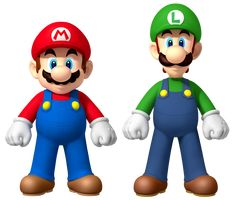 Mario & Luigi Mario Brothers Iron On T Shirt Transfers Light/White Fabrics Best Cartoon Characters, Favorite Cartoon Character, Animated Cartoons, Cool Cartoons, Green Warriors, Most Popular Cartoons, Popeye The Sailor Man, Character Modeling, Super Mario Bros