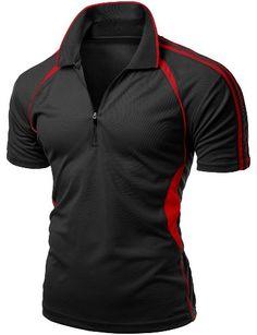 Mens Coolmax Sporty Fill Zipup Short sleeve Polo T-Shirt BLACK M Xpril http://www.amazon.com/dp/B00K0BQPPI/ref=cm_sw_r_pi_dp_Cgkkvb13FJTAB