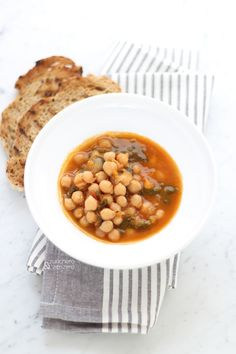 Zuppa marocchina di ceci