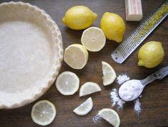 The Vintage Recipe Project: Lemon Sponge Pie