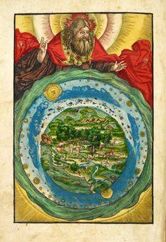 From the Magnificent Maps blog post 'Mapping Paradise'. Image: The Garden of Eden, from Biblia, das ist, die gantze Heilige Schrifft Deudsch [Wittenberg: Hans Lufft, 1536]