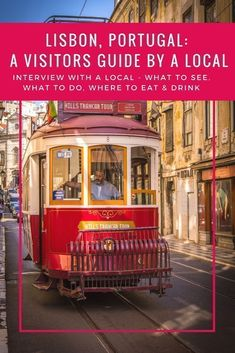 Tips for travel in Portugal! The best things to do in Lisbon, Portugal. The food, beaches, nightlife, restaurants, shopping, markets, architecture, trams... Get visitor information from a local as part of my city guide regular feature Interview with a local #portugal #lisbon #lisbonportugal #lisboncityguide #lsibonvisitorinformation #portugaltravel #portugalfood #nightlifetravel