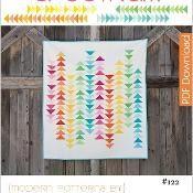 Spectrum Quilt Pattern - PDF - via @Craftsy