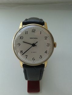 SEKONDA Vintage Soviet  mechanical mens watch by VintageAndWatches, $45.00