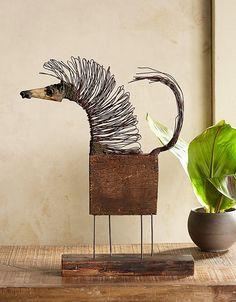 sculpture Horsemania Sculpture - recycled wood, wire and clay sculpture.Horsemania Sculpture - recycled wood, wire and clay sculpture. Horse Sculpture, Animal Sculptures, Sculpture Ideas, Sculpture Clay, Sculpture Projects, Art Populaire, Scrap Metal Art, Found Art, Assemblage Art