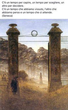 Seneca Caspar David Friedrich Paintings, Casper David, Famous Artwork, Gothic Art, Oeuvre D'art, Great Artists, Art History, Oil On Canvas, Poster Prints