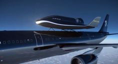 A Swiss firm has unveiled radical plans to launch a space shuttle from the top of an Airbus passenger jet