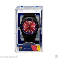 Reloj F.C.B. Futbol Club Barcelona Barça 716238 Rojo OFICIAL Nuevo Caja Original