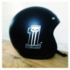 Dark Custom Helmet