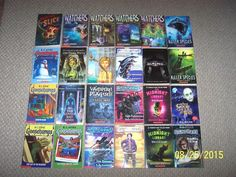 24 Scary Horror Supernatural Chapter Books 4th to 6th Grade Animorphs Goosebumps