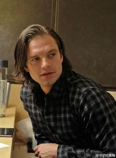 Sebastian Stan in Beging. That trip gave us so many amazing photos of him…