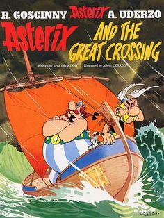 Asterix and the Great Crossing Album 22 No Comic by GraphicWorld85, $1.99