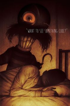 Illustrations from Syfy's anthology series Channel Zero: Candle Cove