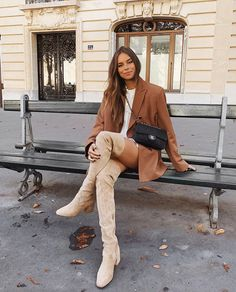 November 12 2019 at fashion-inspo Black Blazer With Jeans, Long Blazer, Jeans And Boots, Fall Winter Outfits, Autumn Winter Fashion, Summer Outfits, Autumn Style, Spring Style, Chic Outfits