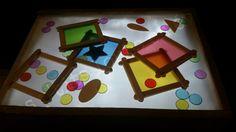Jeu de couleurs pour table lumineuse Plus