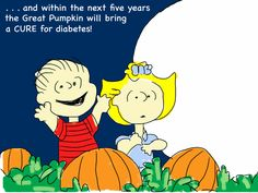 That's when Sally left Linus sitting in the pumpkin patch, and went trick-or-treating with her big brother.