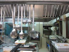 In the kitchen at Sabores Restaurant Sardinia