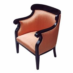 Rare Ebonized Biedermeier Bergere | From a unique collection of antique and modern bergere chairs at http://www.1stdibs.com/furniture/seating/bergere-chairs/