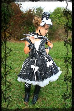 Hey, I found this really awesome Etsy listing at https://www.etsy.com/listing/163541295/jack-skellington-halloween-dress-up