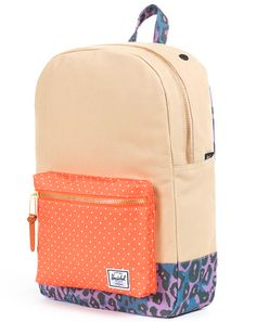 Colorful Herschel Backpack.
