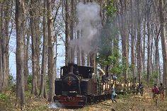世界の蒸気機関車<インドネシア>