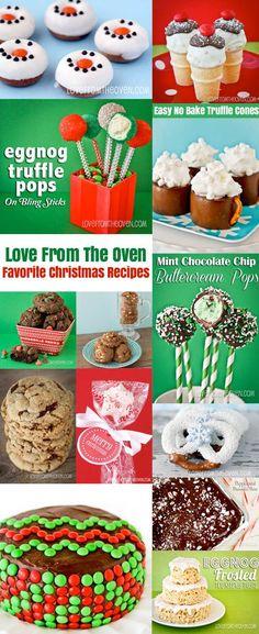 Christmas Dessert And Christmas Cookie Recipes.