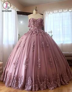 Puffy Prom Dresses, Pretty Quinceanera Dresses, Quince Dresses, Ball Gowns Prom, Cheap Prom Dresses, Ball Dresses, 15 Dresses, Evening Dresses, Formal Dresses