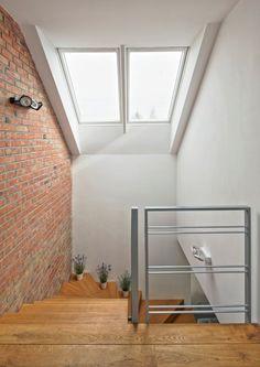 House Stairs, Stairways, Brick, Ikea, New Homes, Loft, Windows, Doors, Flooring