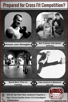 Get geared up for the upcoming CrossFit competition by enrolling yourself in a CrossFit gym in Chandigarh. Maintain your strengths and work on your weaknesses, spend more time on training and make it a point to get trained with some of the topmost athletes. http://mmagymchd.com/blog/get-geared-next-crossfit-competition-tips/