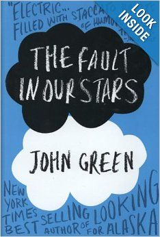 The Fault in Our Stars: John Green: Just bought this, as it was recommended as one of the best YA books of the year--so far so good, then I will donate it to the CHSE Library. John Green, The Fault In Our Stars, Ya Books, Great Books, Amazing Books, It's Amazing, The Lunar Chronicles, Augustus Waters, Summer Reading Lists