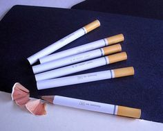 Just Say No: Cigarette Pencils via @Incredible Things