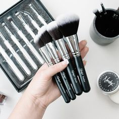 Pro brushes with an affordable twist. #Nanshy #NanshyBrushes #Nanshyfacebrushes